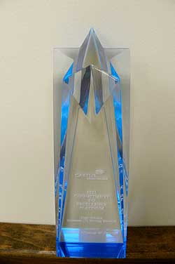 Castine Moving & Storage Receives Commitment to Excellence Platinum Award for High Volume Domestic US Moving Services at the Cartus 2011 Global Network Conference