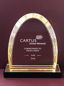 Castine Movers Receives Commitment to Excellence Gold Award  at Cartus 2018 Global Network Conference